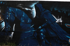 Chevalier (TT02) Tags: tag peinture bleu larochelle chevalier