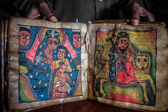 christian Coptic Orthodox sacred book in the monastery on Lake Tana, ethiopia (anthony pappone photography) Tags: africa travel canon african afrika ethiopia ethnic orthodox bahirdar afrique phototravel etiopia etnic  etnico ethiopie etiope etnia  etnica etnologia afryka  etiopija  thiopie etiopien etipia  ethnc etiopi