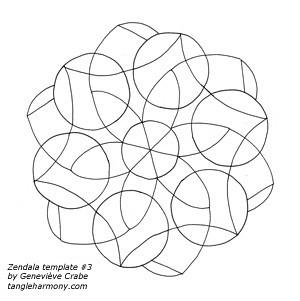 Zendala template #3