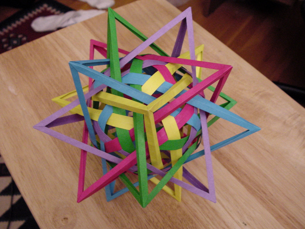 The World's Best Photos of origami and triacontahedron ... - photo#21