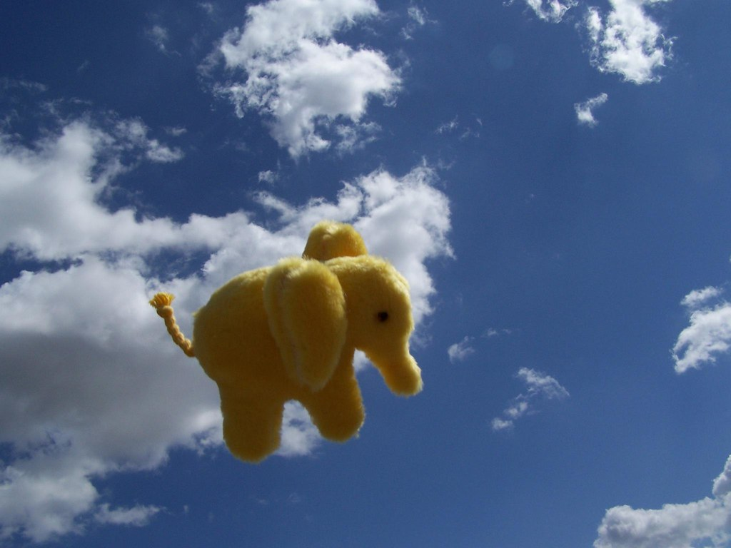tembo the yellow elephant