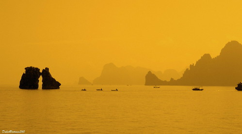 Trongmai Islet in Halong Bay, Vietnam
