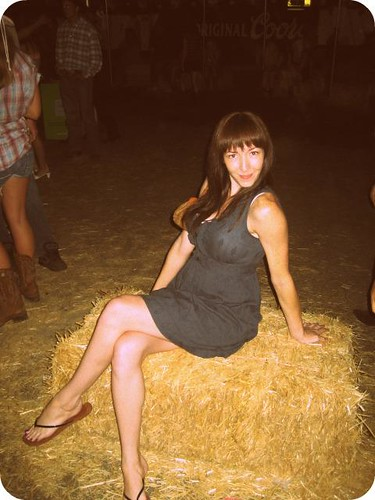 cute sarah at the rodeo dance