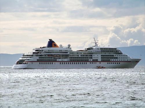 MV Europa visiting Ayr