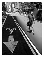 """Path of shadow, Path of light"" (Sion Fullana) Tags: urban blackandwhite newyork blancoynegro streetphotography timessquare arrow allrightsreserved newyorkers iphone peoplewalking urbanshots urbannewyork iphonephotography iphoneshots walkinginthelight iphoneography shavedheadman iphoneographer ©sionfullana pathofshadowpathoflight throughthelensofaniphone"