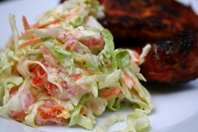 slaw with ribs