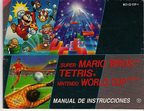 manual juego super mario+tetris+nintendo world cup