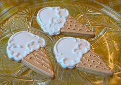 Vanilla Ice Cream Cone Cookies (Whipped Bakeshop) Tags: philadelphia icecream philly icecreamcookies whippedbakeshop summercookies bestofphilly2010 philadelphiacakescookiesandcupcakes