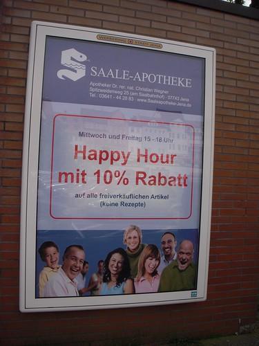 Pharmacy Happy Hour