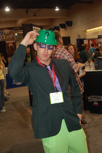 Comic Con 09: Riddle me this