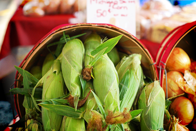 Corn ... sweet