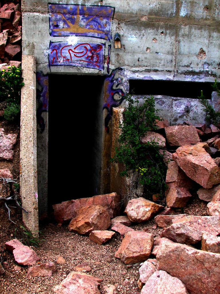 Bisbee Hill Bunker doorway