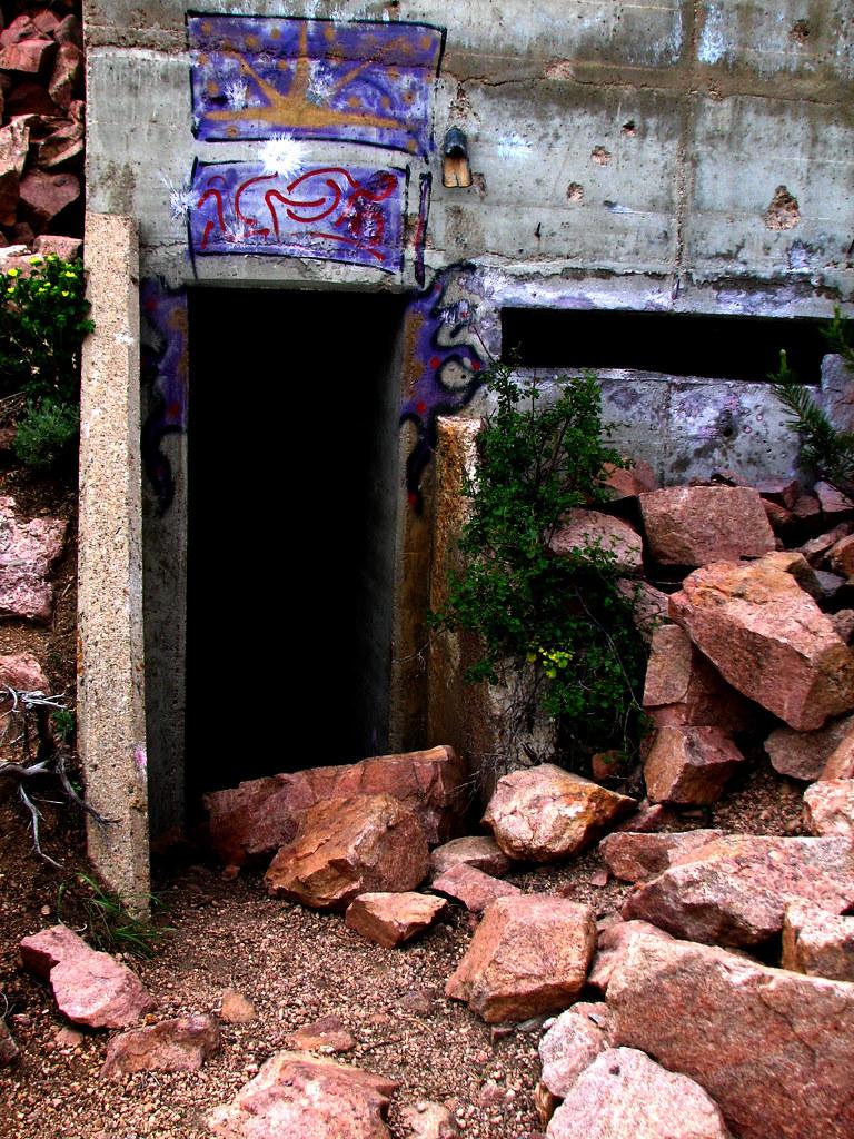 Bisbee Hill Bunker doorway