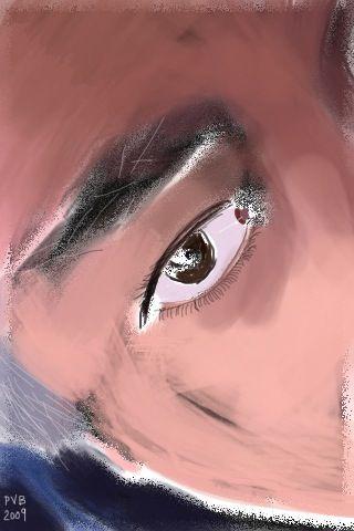 young pvb's eye