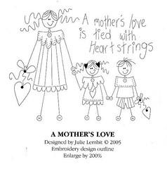 Linda esta familia para bordar .... (soniapatch) Tags: familia embroidery bordado riscosparabordar