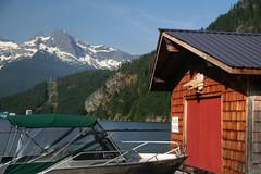 Ross Lake Resorts (Bgoulette612) Tags: mountains landscape washington hiking lakes manmade