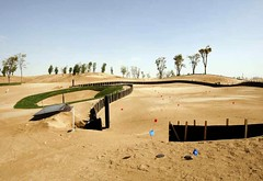Tiger Woods Dubai, early construction (by: Construction Weekly)