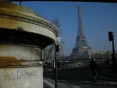 vive eiffel (ÇaD) Tags: paris france graffiti chad eiffeltower tags cagdas ozturk vivelafrance deger cagdasdeger