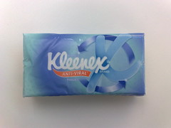 kleenex anti-viral commuter freebie