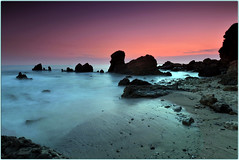Staycation (Extra Medium) Tags: ocean longexposure sunset beach rocks explore orangecounty frontpage coronadelmar cokin gnd4 gnd8 ihaventpostedanhdrshotinoveramonth