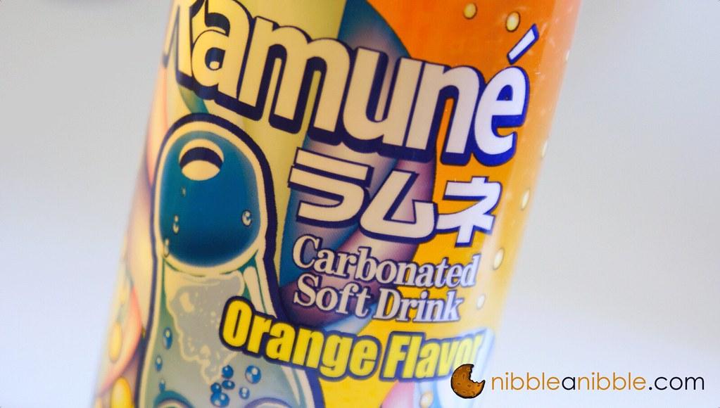 Orange Flavor Ramune