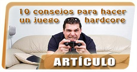 Banner 10 consejos juego hardcore
