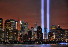 WTC Tribute in Lights 2009 (noamgalai) Tags: city nyc ny newyork buildings poster newjersey memorial jerseycity worldtradecenter nj beam memory terror twintowers wtc sept11 september11 2009 september11th terrorattack 9112001 1192001 tributeinlights ניויורק noamgalai נועםגלאי אסוןהתאומים 8yearslater sitelandscapes sitemisc 9112009 1192009 sitemain 8yearsafter 11בספטמבר
