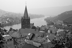 Bernkastel (Kenny 84) Tags: city roof bw white black tower church westminsterabbey millenniumwheel towerbridge canon vintage river germany landscape boat blackwhite leaf vineyard europe european hill londoneye hmsbelfast valley grapes grape rhineland halftimbered mosel bernkastel timberframing palatinate