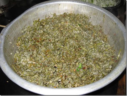 陕西人的特色食品麦饭