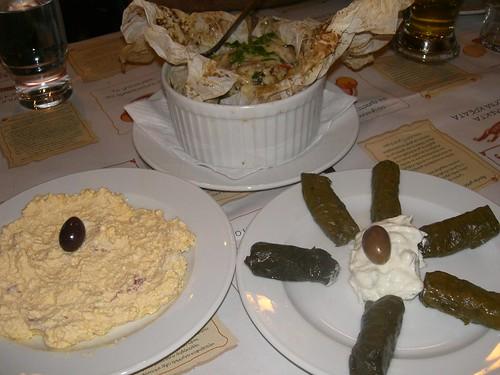 pans and grills ladadika thessaloniki htipiti dolmadakia ladokolla