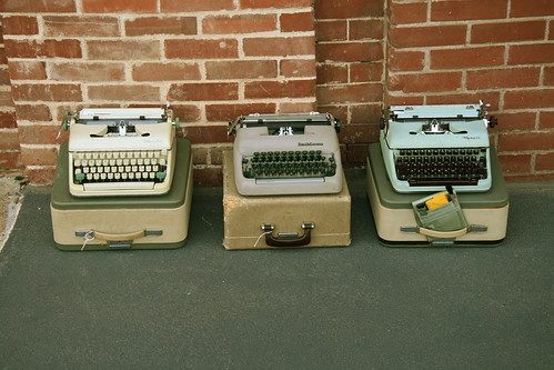 Typewriter Trio
