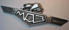 MAZ emblem - 1965 (baga911) Tags: truck bull ornament badge belarus minsk maz minsky bika бык zavod avtomobilny автомобилей маз эмблемы