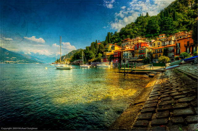 Timelapse Tuesday  – A quiet day in the harbor – Varenna, Italy