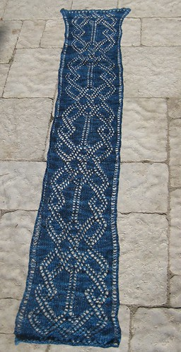 Stained Glass Lace Scarf