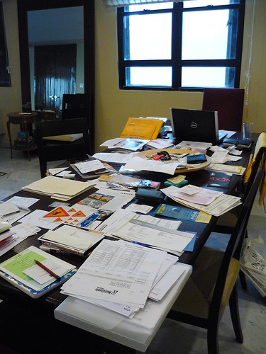 Sorting papers