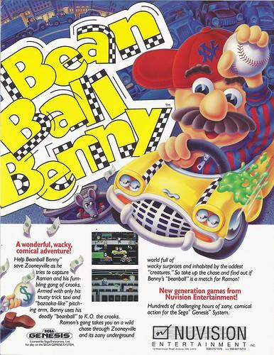 Bean Ball Benny
