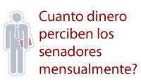 Sueldos senadores España