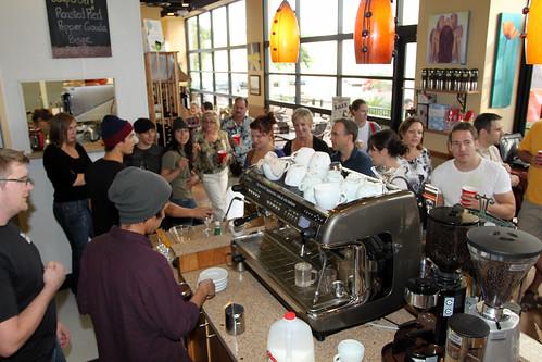 Barista Jam at Press Coffee