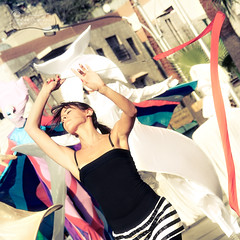 Dream Again... (SonOfJordan) Tags: show old city blue people blur girl festival century canon balloons eos centennial dance costume downtown bokeh cityhall flag amman dream parade jordan masks theme ribbon 100 colourful muted xsi gam    450d      samawi  sonofjordan canoneosxsi450dsamawisonofjordan shadisamawi    wwwshadisamawicom