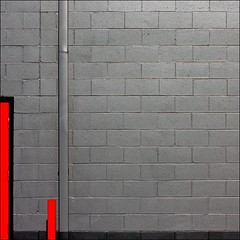 Cigarette (Tailer Ransom) Tags: abstract black lines wall canon eos nikon colorful geometry vibrant bricks gray 7d cylinder gutter minimalism rectangle ransom xsi williamscollege lockwood tailer ministract tailerransom