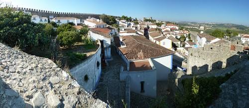 Obidos perimiter wall