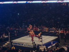 Finlay and Great Khali vs Kane and Mike Knox