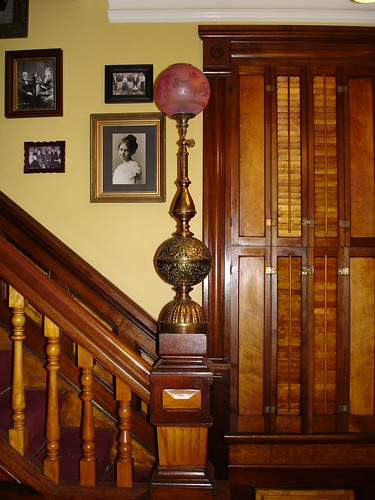 Newel Post Light Ohw view topic newel post light reunited with the house image audiocablefo