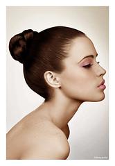 Profilo (CATTYROY) Tags: pink woman brown make up donna cs2 profile rosa ps brunette bruna mora colorize profilo ombretto
