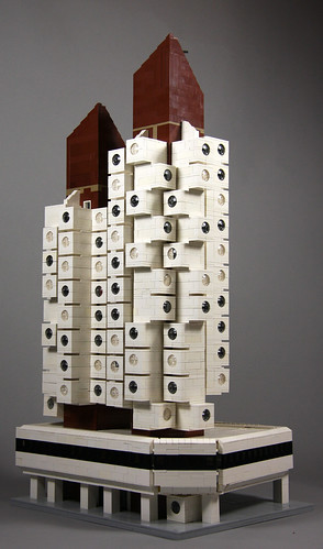 LEGO Nakagin Capsule Tower