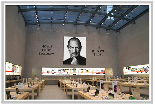 Steve Jobs Shrine Apple Temple