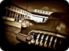 Bozo's Garage (john4kc) Tags: newmexico classic car buick highway antique super 66 hwy special route 1950s 50s roadside nm 50 santarosa eight 1950 picnik bozoagarage