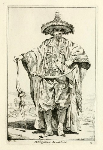 013-Embajador de la China-Caravanne du sultan ala Mecque…1748- Joseph Vien