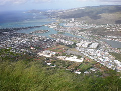 Hawaii Kai, from atop Koko Head