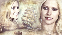 Avril & Sailing Ships (gergely.kondas) Tags: wallpaper full hd avril lavigne